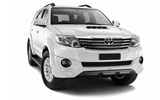 Toyota Fortuner from Budget, Dubai