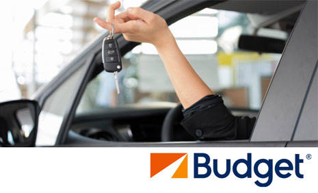Book in advance to save up to 40% on Budget car rental in Sharjah