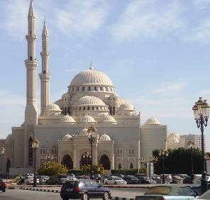 Sharjah - Corniche Road car rental, UAE